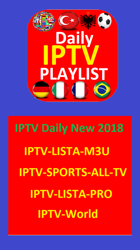 IPTV Daily New 2018 1.1 Screen 2