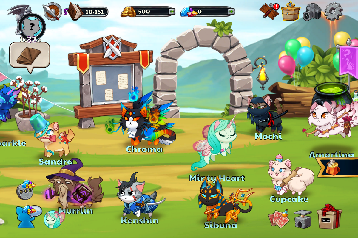 Android Castle Cats: Epic Story Quests Screen 11