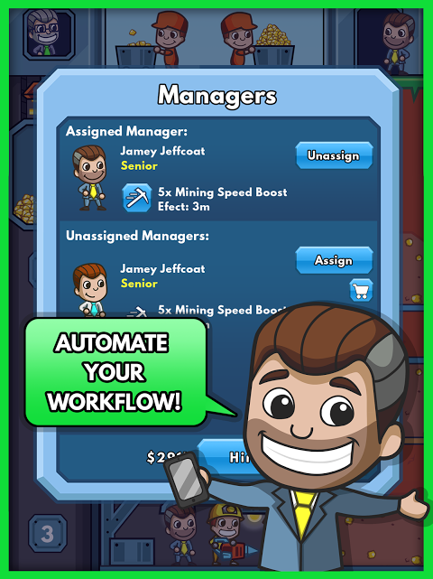 Android Idle Miner Tycoon Screen 10