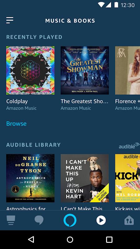 Amazon Alexa 2.2.237625.0 Screen 7