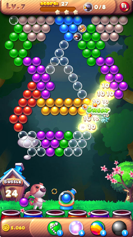 Android Bubble Bird Rescue 2 - Shoot! Screen 15