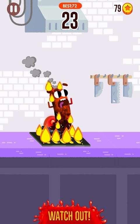 Run Sausage Run! 1.4.0 Screen 1