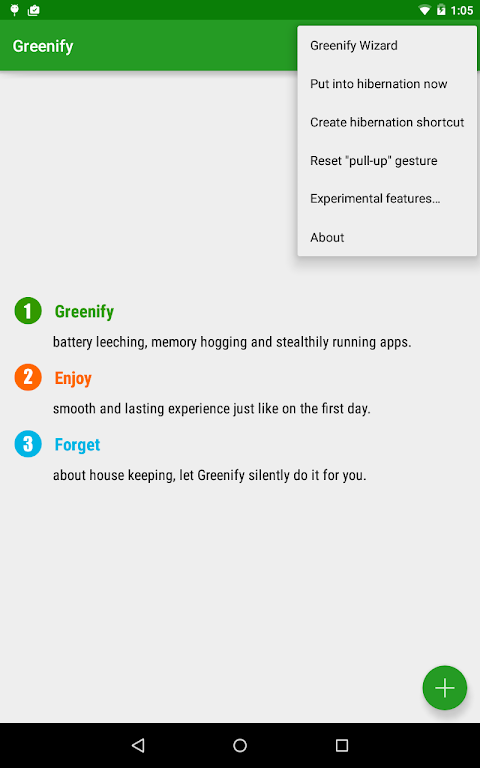 Android Greenify Screen 4