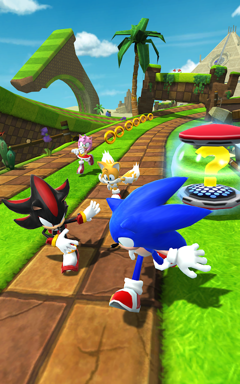 Android Sonic Forces: Speed Battle Screen 7