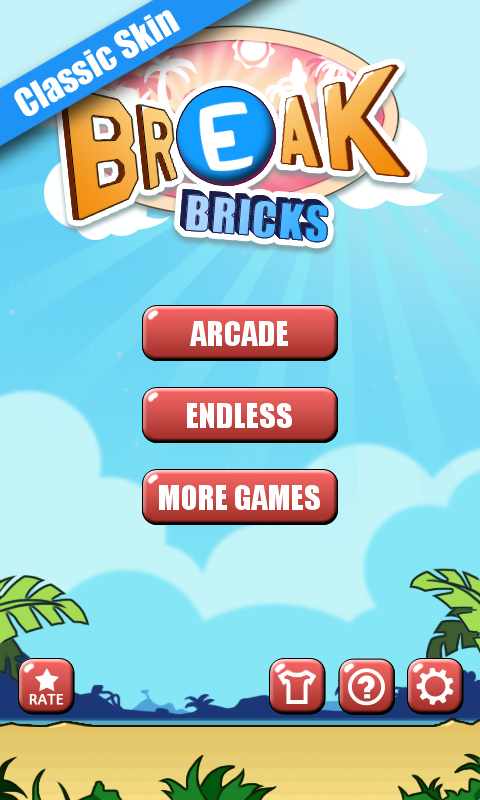 Android Break Bricks Screen 1