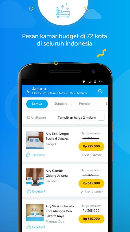 Android Airy - Tiket Pesawat & Hotel Murah Screen 2