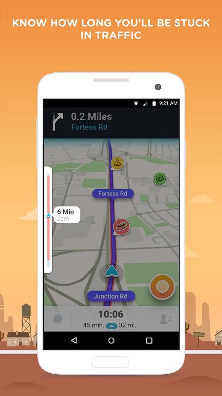 Waze - Sat Nav, Maps & Traffic 4.22.1.901 Screen 4
