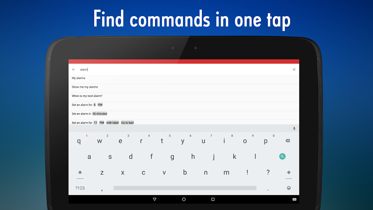 OK Google Voice Commands (Guide) 4.2.000 Screen 9