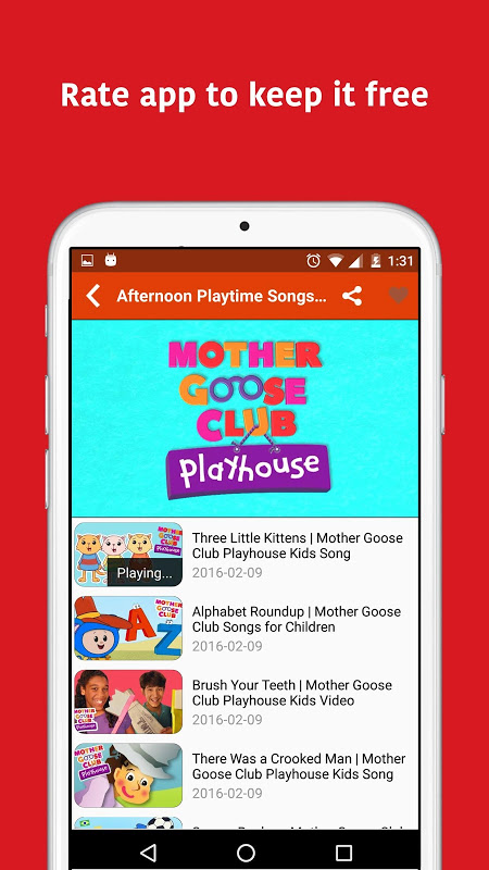 Android KidTV Screen 3