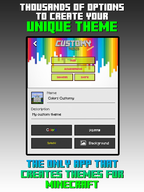 Customy Themes for Minecraft PE 1.29 Screen 4