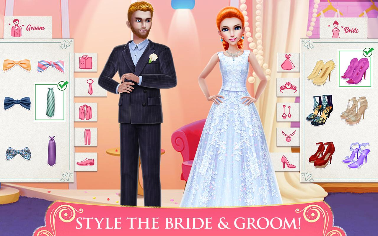 Android Dream Wedding Planner - Dress & Dance Like a Bride Screen 1