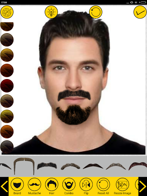 Add Hair Beard Mustache Styles 1.7 Screen 10