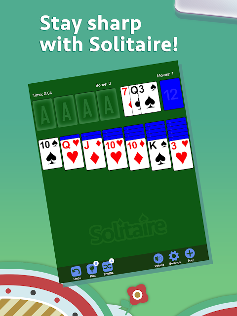 Android Solitaire Screen 9
