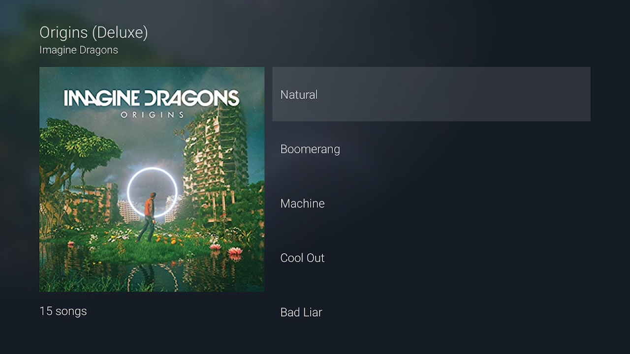 Android Amazon Music for NVIDIA SHIELD Screen 1