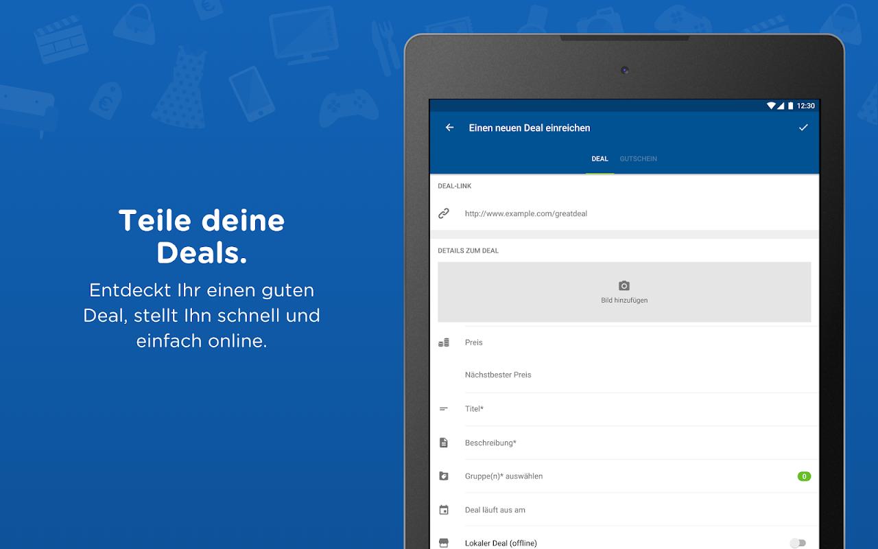 Android mydealz – Gutscheine, Schnäppchen, Angebote, Sale Screen 9