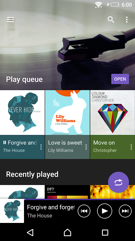 Android Music Screen 2