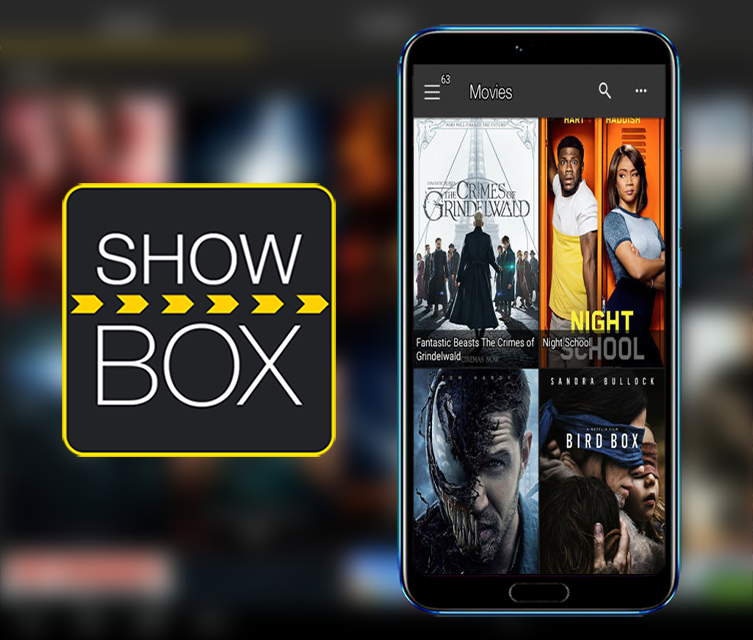 Android Showbox Screen 2