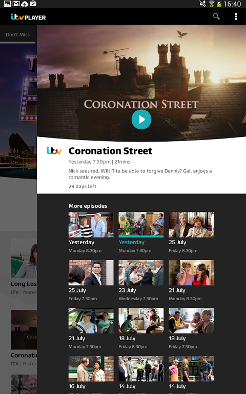 Itv Download Android