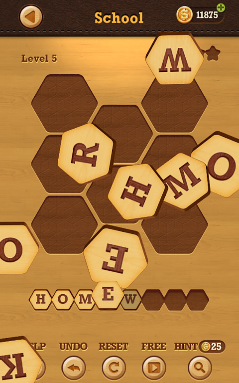 Android Words Crush: Hidden Themes! Screen 1