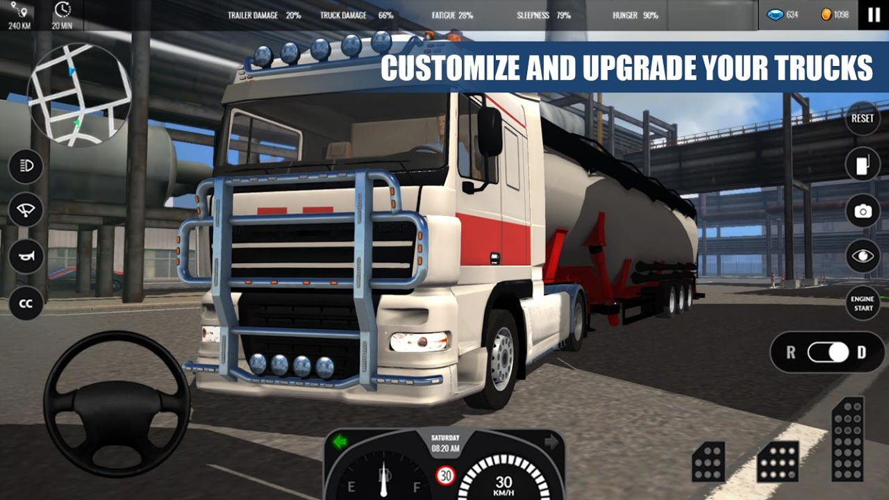 Truck Simulator PRO Europe 1.0 Screen 3