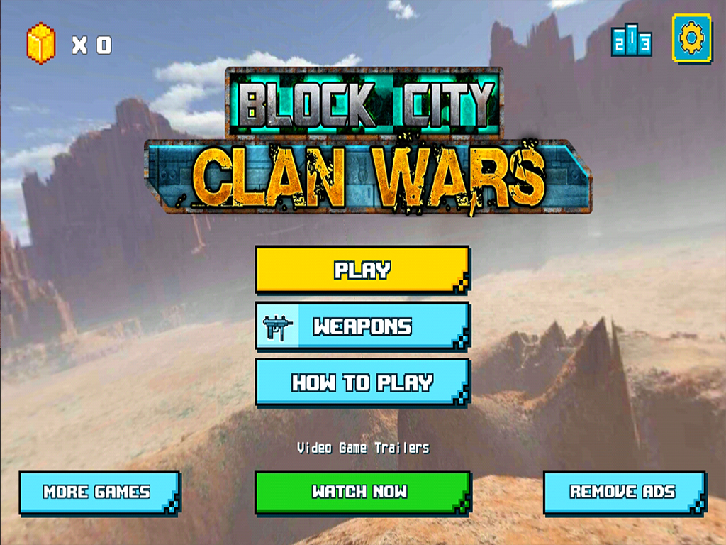Android Block City Clan Wars Screen 3
