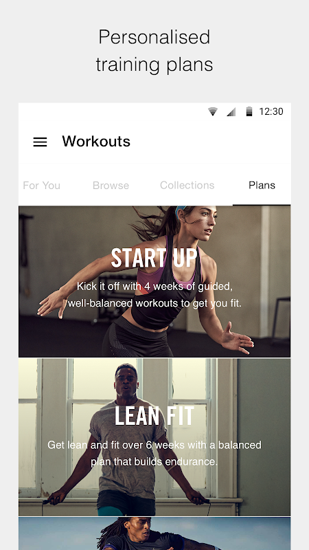 Nike Training Club - Workouts & Fitness Plans 6.4.1 Screen 2