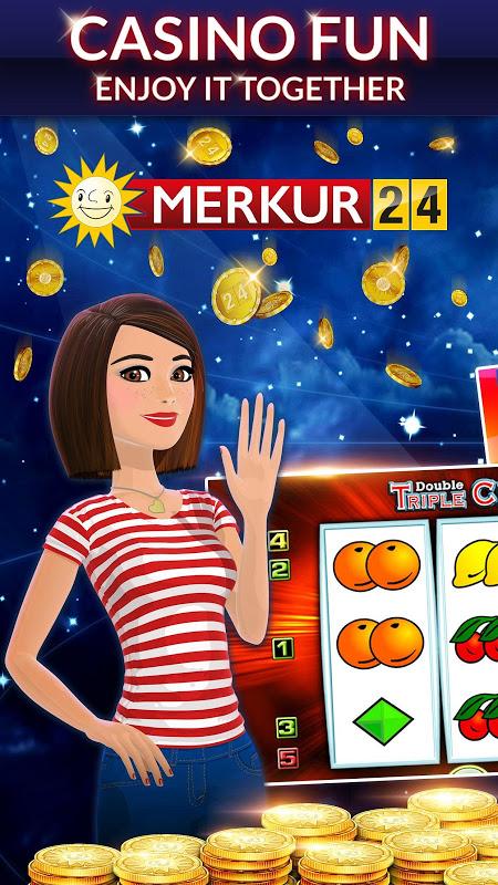 Android MERKUR24 – Online Casino & Slot Machines Screen 4