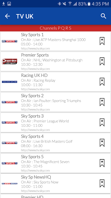 UK Live TV Guide APKs | Android APK