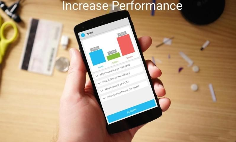 Quad-Core Processor Booster 1.4 Screen 1