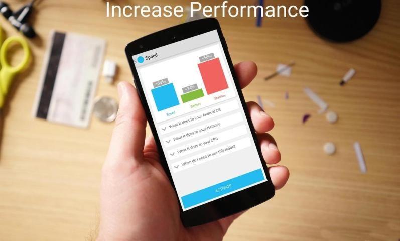 Quad-Core Processor Booster 1.5 Screen 1