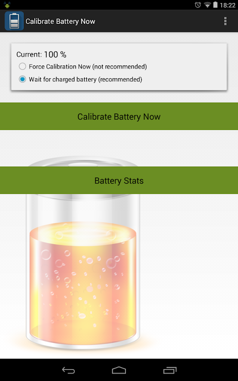 Calibrate Battery Now (root) 1.3 Screen 2