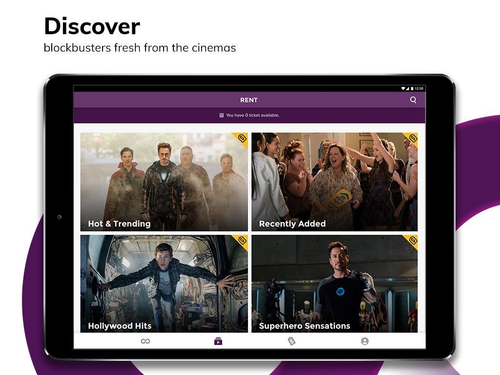 HOOQ - Stream & Watch Movies, TV Series & More 2.14.1-b705 Screen 12
