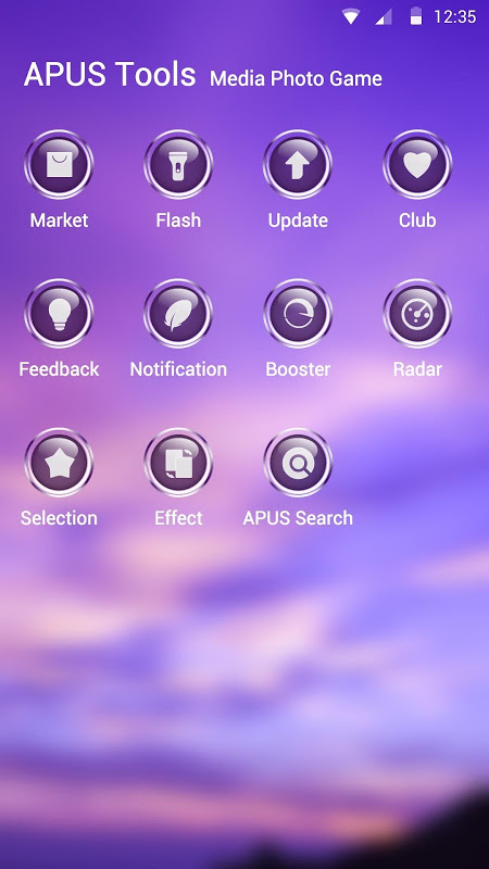 Purple Sky Theme 1 Screen 2