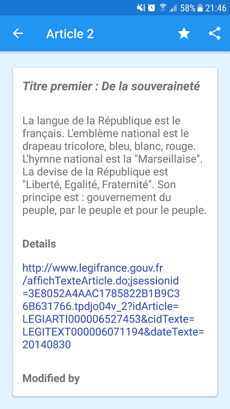 French Constitution 1.0 Screen 4