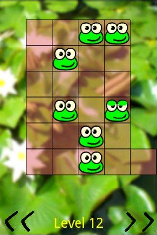 Android Frogs Jump Free Screen 1