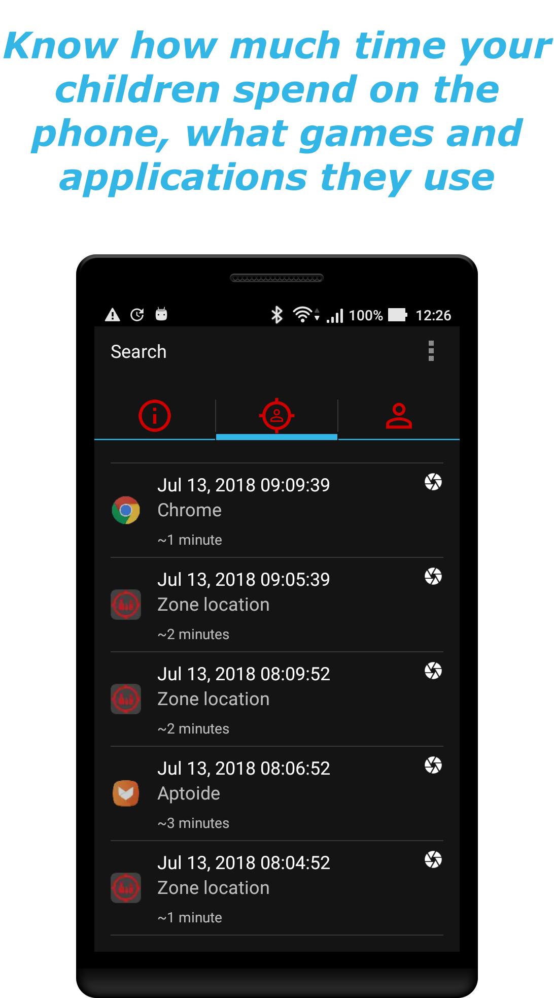 Android GPS Phone Tracker Spy Screen 8