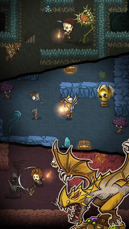 The Greedy Cave 1.8.2 Screen 1