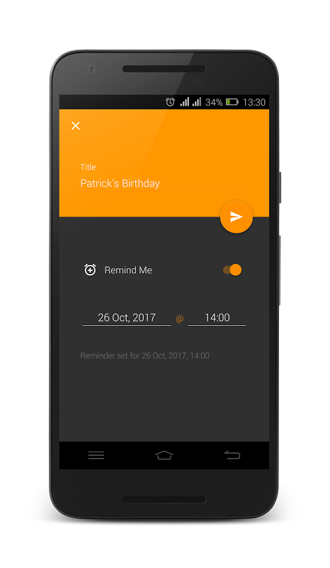 To Do List - Reminder 1.4 Screen 5