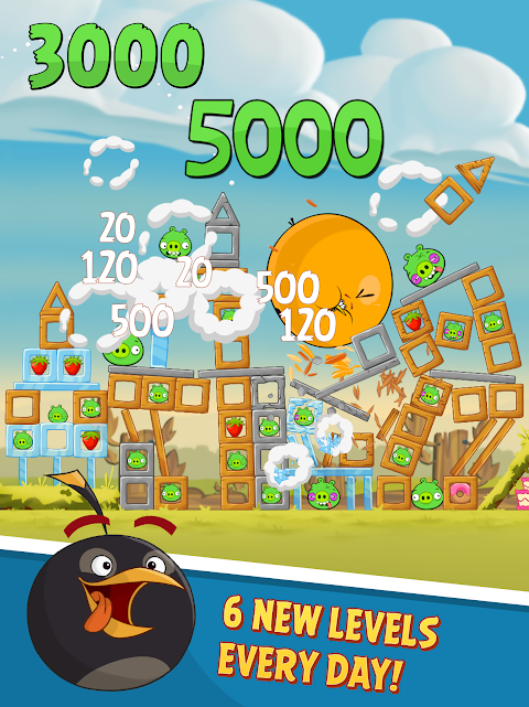 Android Angry Birds Screen 9