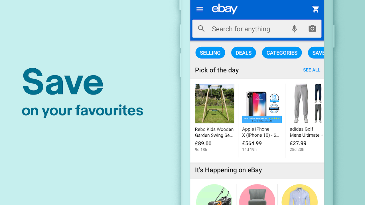 eBay Online Shopping - Buy, sell and save money 5.36.0.20 Screen 4