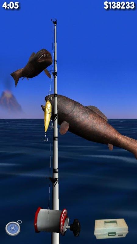 Big Dino Fishing 3D 1.02 Screen 4