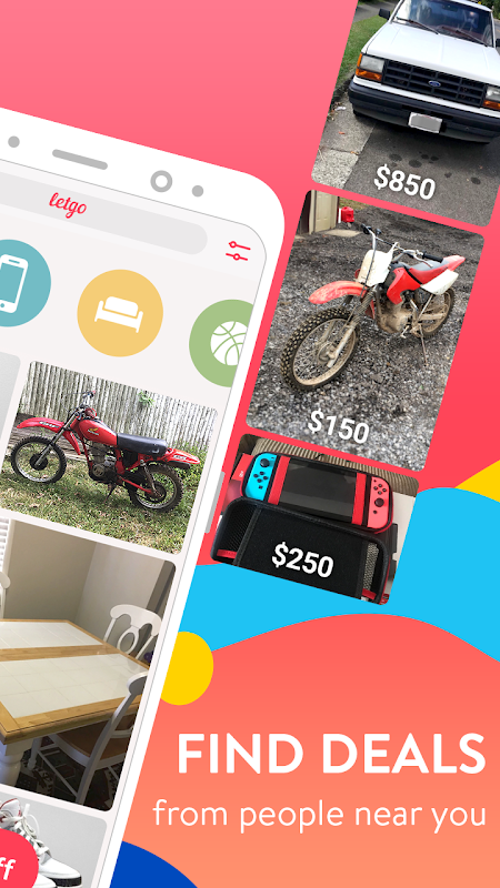letgo: Buy & Sell Used Stuff, Cars & Real Estate 2.5.9 Screen 1