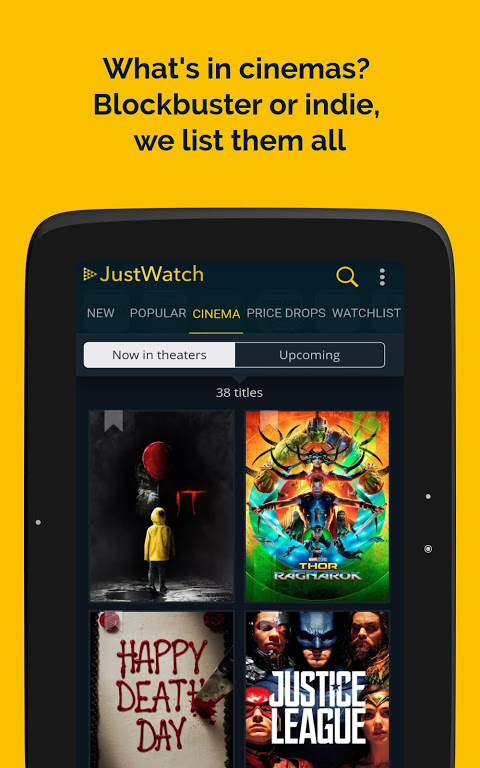 JustWatch - Search Engine for Streaming and Cinema 0.24.58 Screen 9