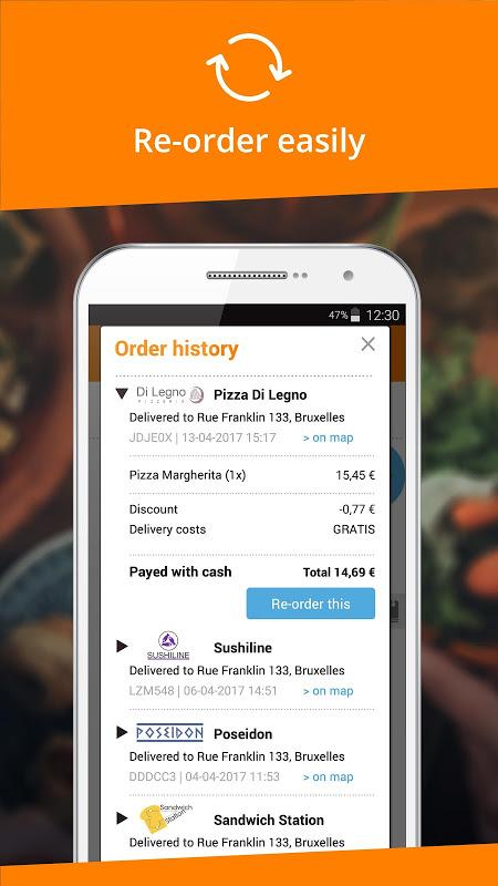 Takeaway.com - Belgium 4.22.2 Screen 2
