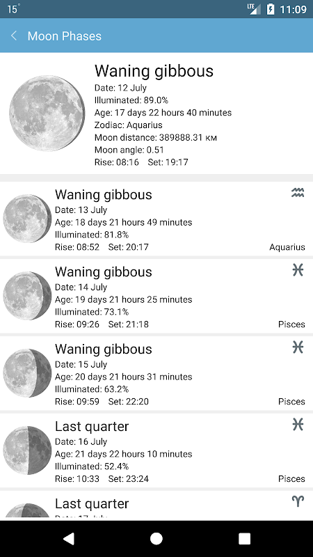 Weather Mate (Weather M8) 1.3.9 Screen 5