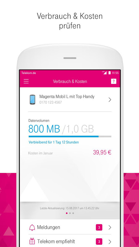 Android MagentaSERVICE Screen 13