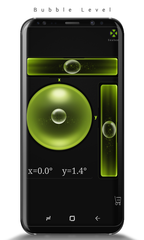 Android Bubble Level Screen 1