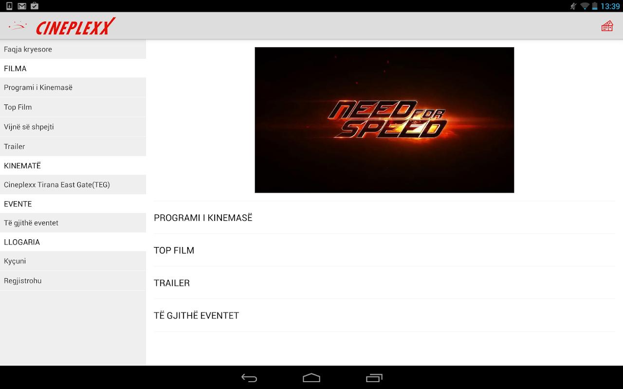 Cineplexx Shqipëria 3.9.3 Screen 5