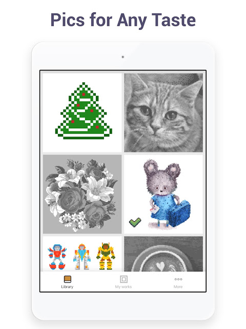 Pixel Art - Colour by Number Book 2.1.2 Screen 9