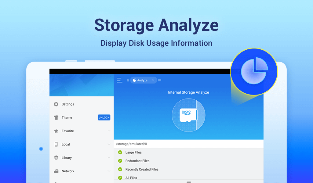 ES File Explorer/Manager PRO 4.1.9.1.3 Screen 2